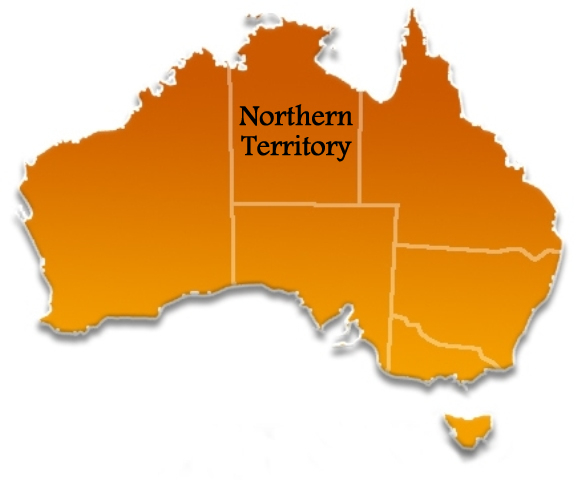 Northern Territory Location Map
