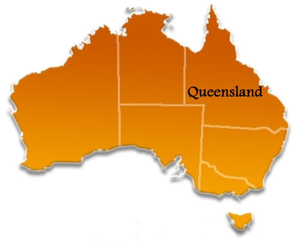 Queensland Location Map
