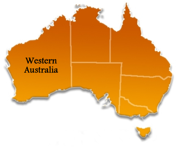 Western Australia Australia Towns Cities And Localities - Map of western australian towns